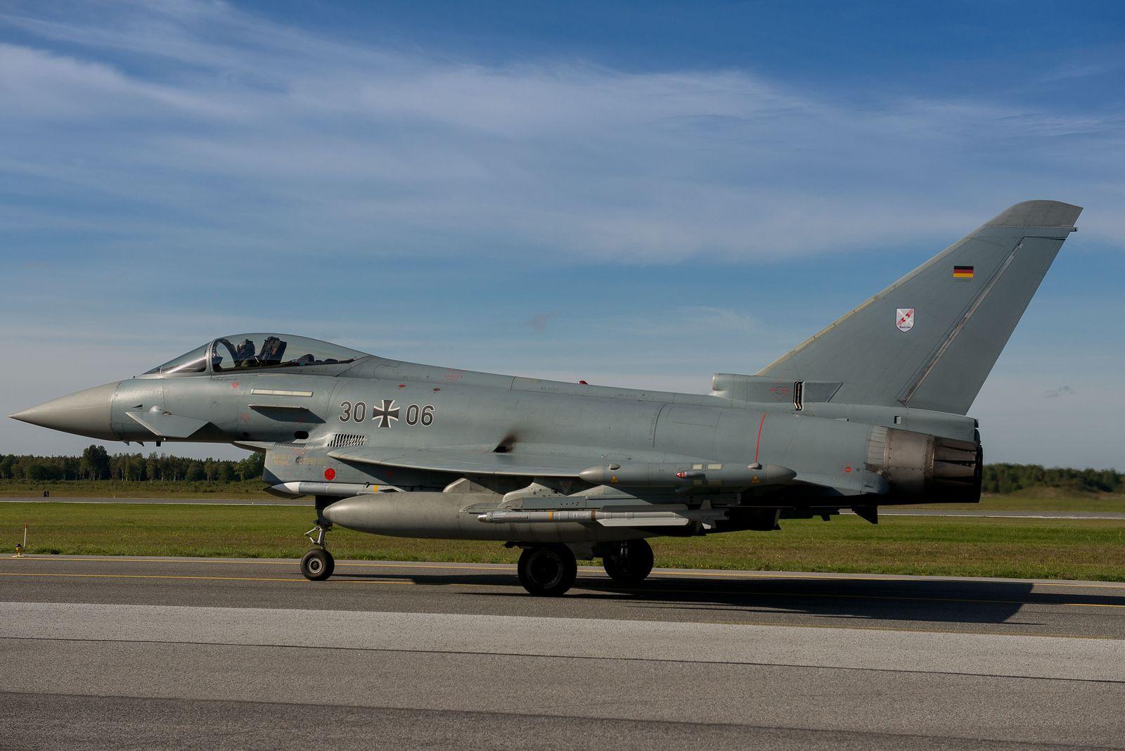 Baltikum/ Estland/ Harjumaa/ Bundeswehr/ Eurofighter