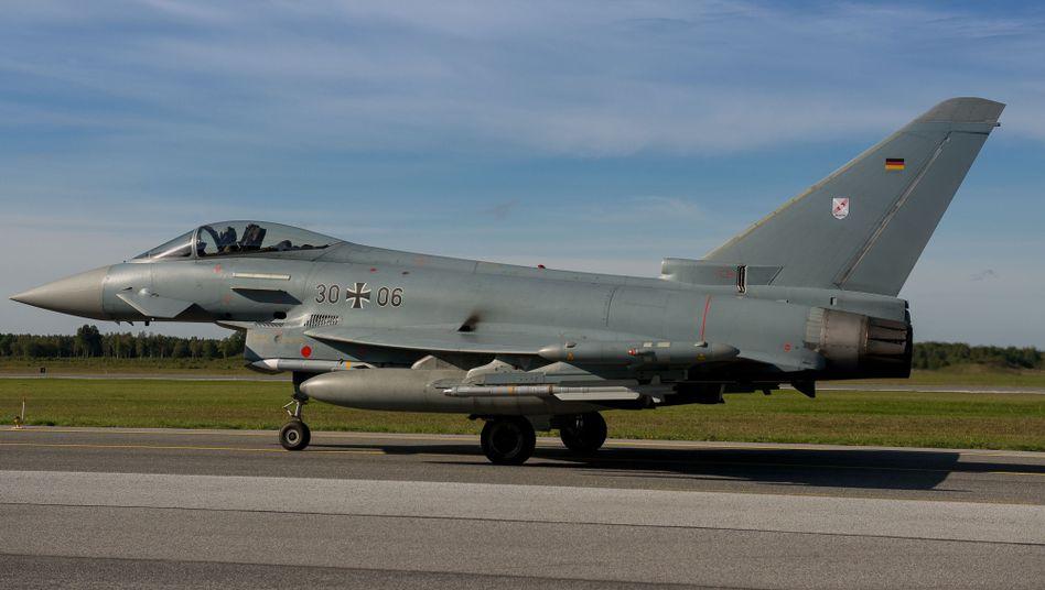 """Deutscher """"Eurofighter"""": """"Das ist kein Mittel zum Eskalieren"""""""
