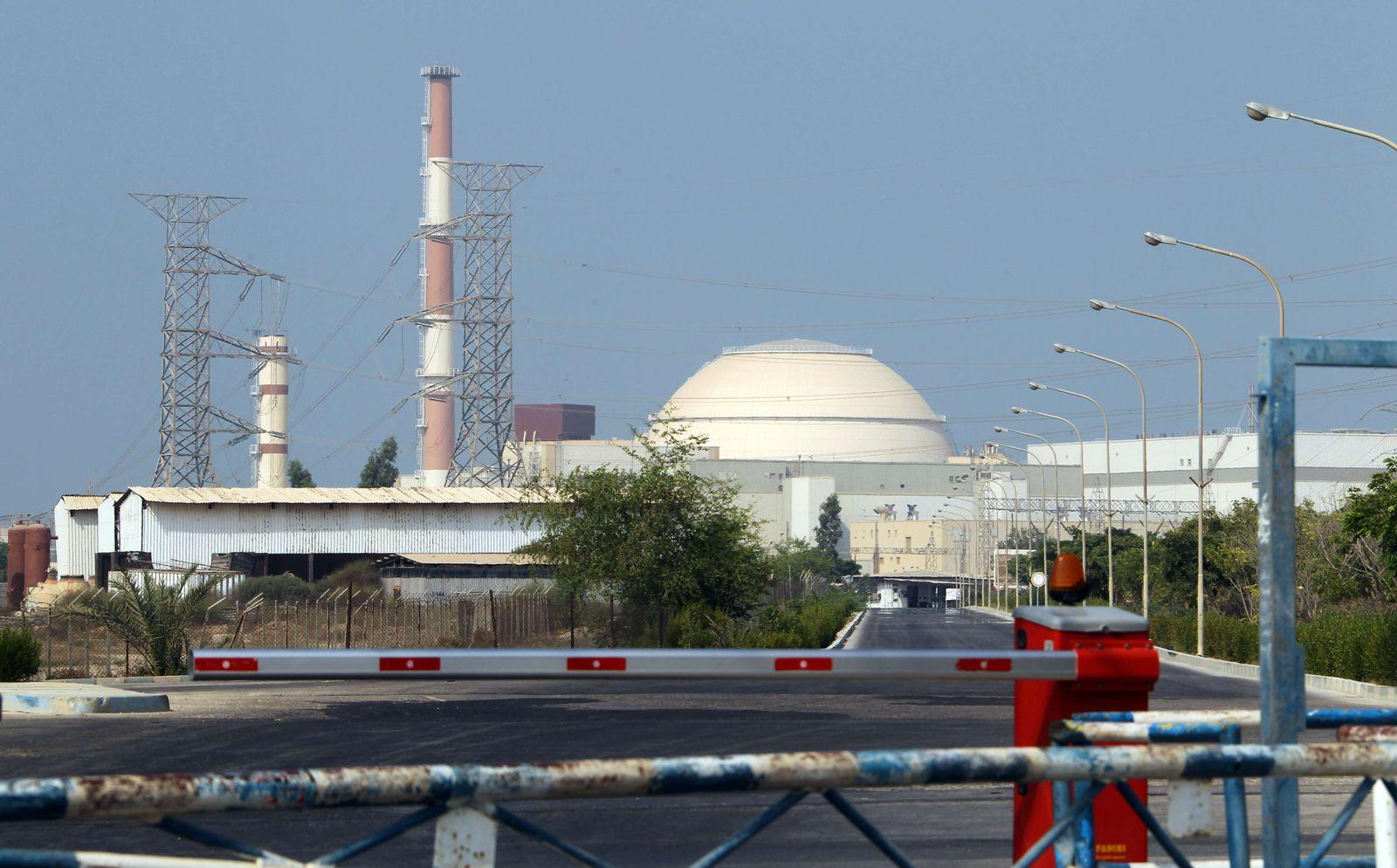 Atomkraftwerk/ Iran/ Buschehr