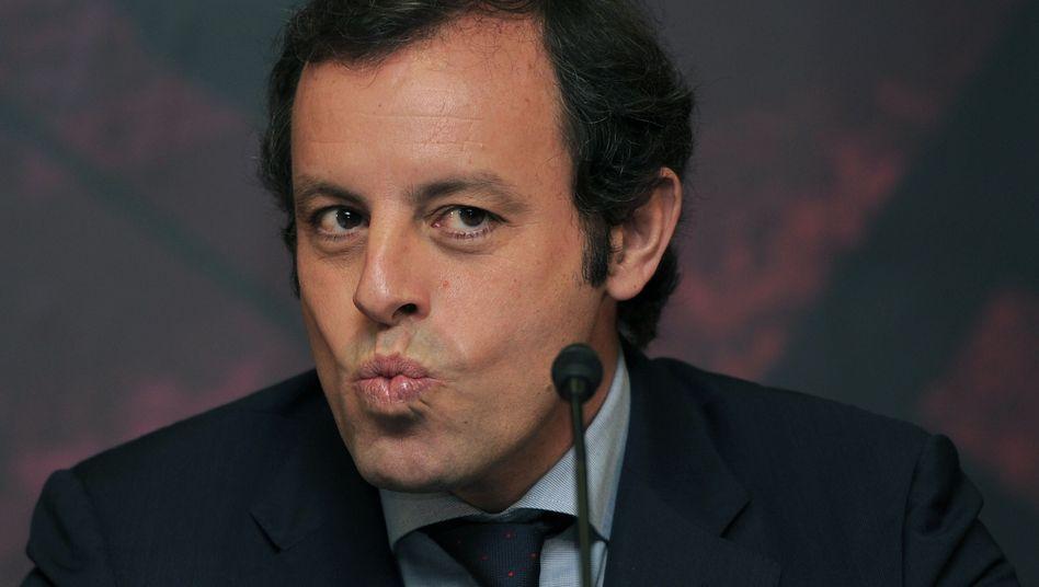 """Barcelona-Präsident Rosell: """"Völlig falsch"""""""