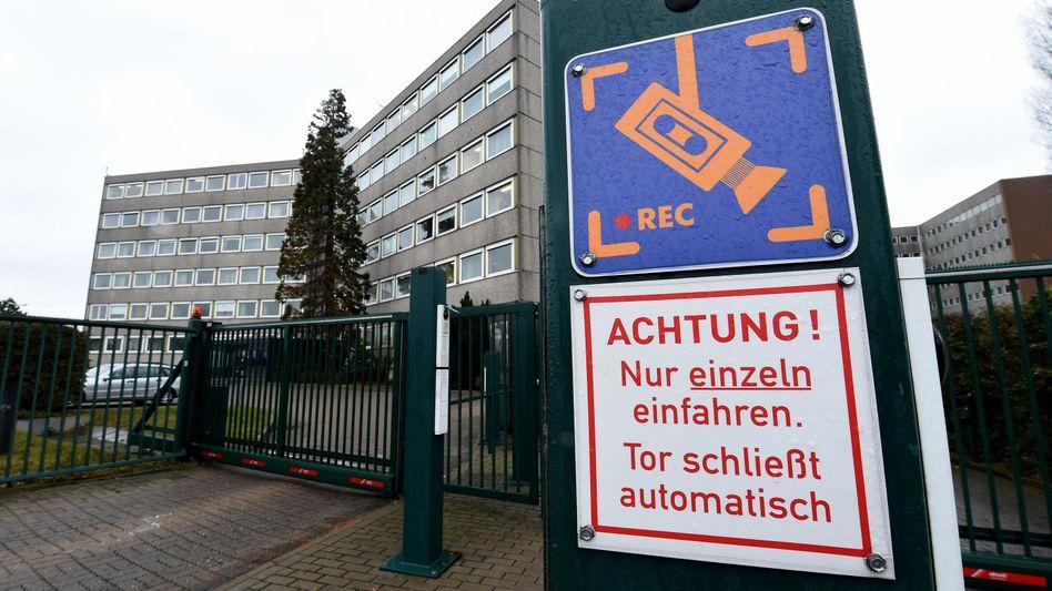 Sitz des niedersächsischen Verfassungsschutzes in Hannover: Erneut eine schwere Panne
