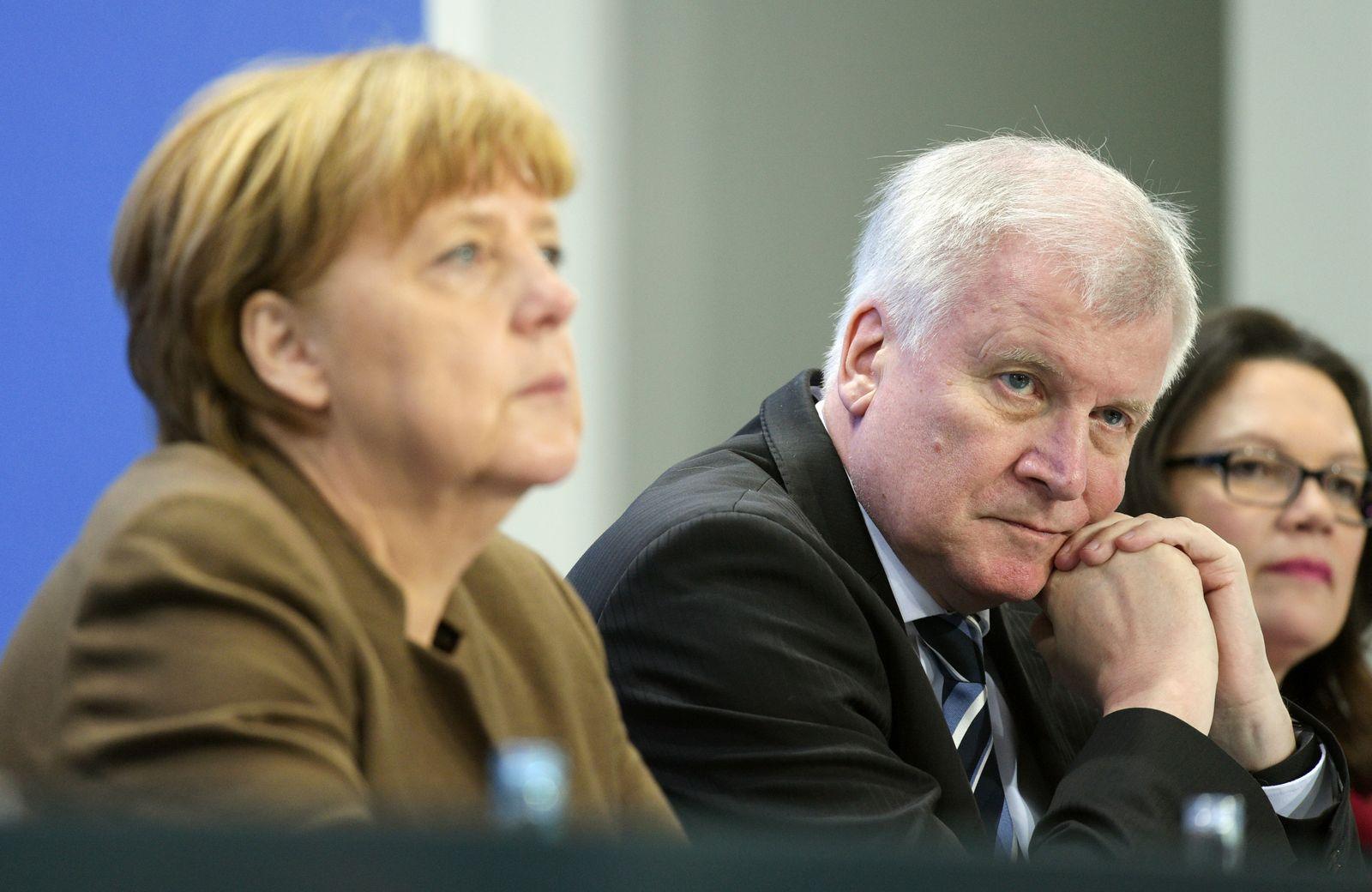 Zeitleiste/ CSU/ CDU/ Seehofer/ Mai 2016