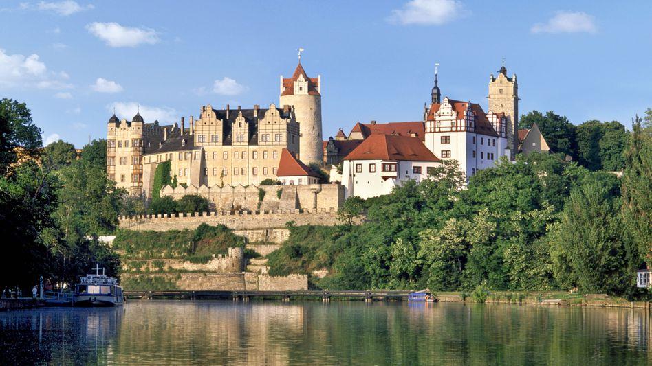 Schloss Bernburg an der Saale in Sachsen-Anhalt