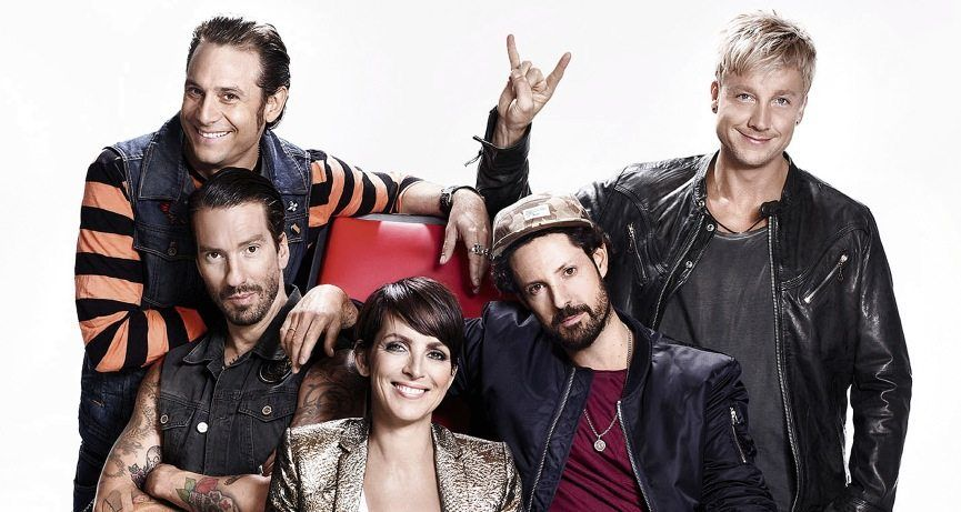 »The Voice of Germany«-Jury 2013