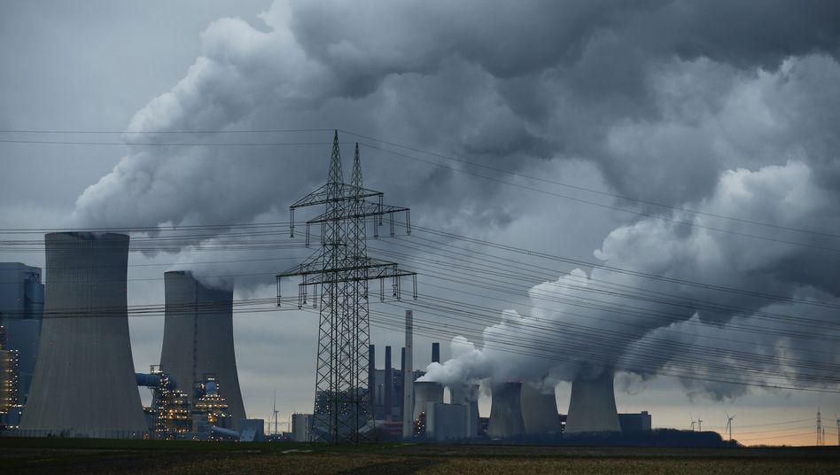 Kohlekraftwerk bei Köln