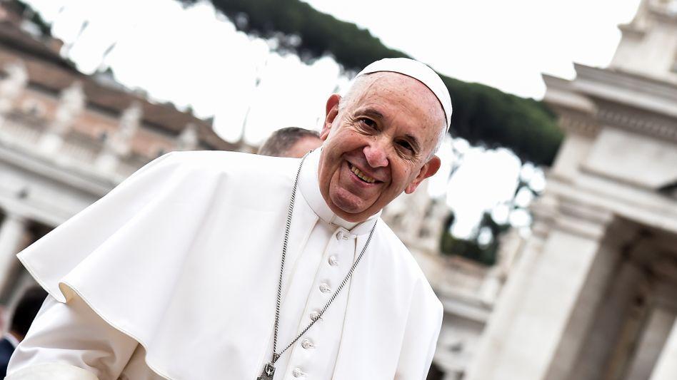 Papst Franziskus auf dem Petersplatz: Zahlreiche Seligsprechungen