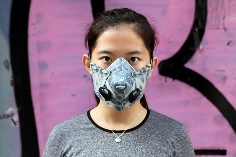 Modische Schutzmasken