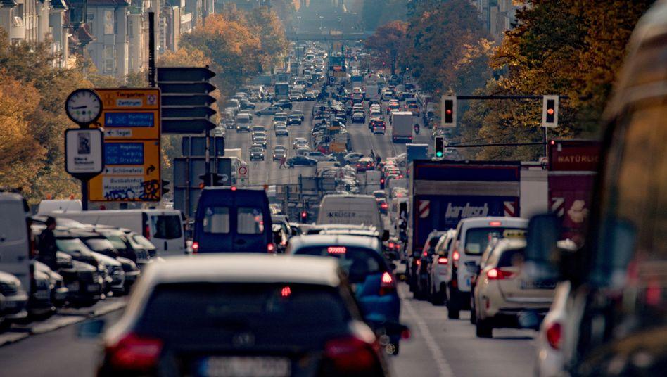 Verkehr in Berlin (Archiv)