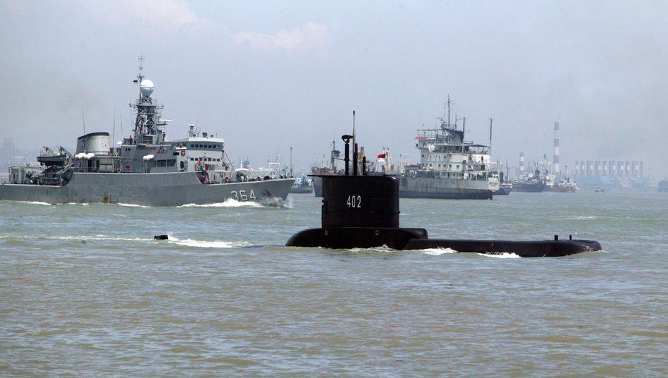 Das vermisste U-Boot »KRI Nanggala-402« 402 (Archivbild)