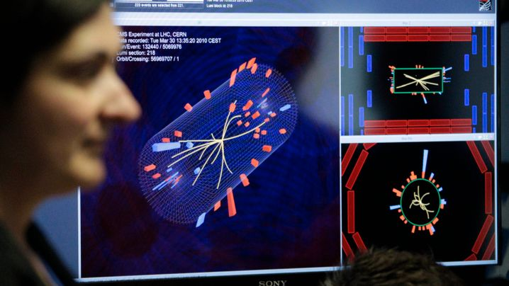 Kollision bei 3,5 TeV: Teilchenphysiker jubeln