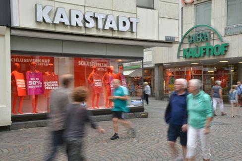 Filialen von Karstadt und Kaufhof in Trier (Archivbild)