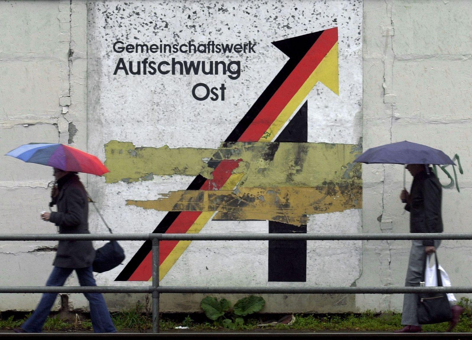 NICHT VERWENDEN Aufschwung Ost/ Plakat