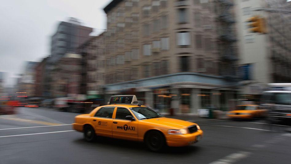 Taxi in New York: Trinkgeld für Fahrer hat sich verdoppelt