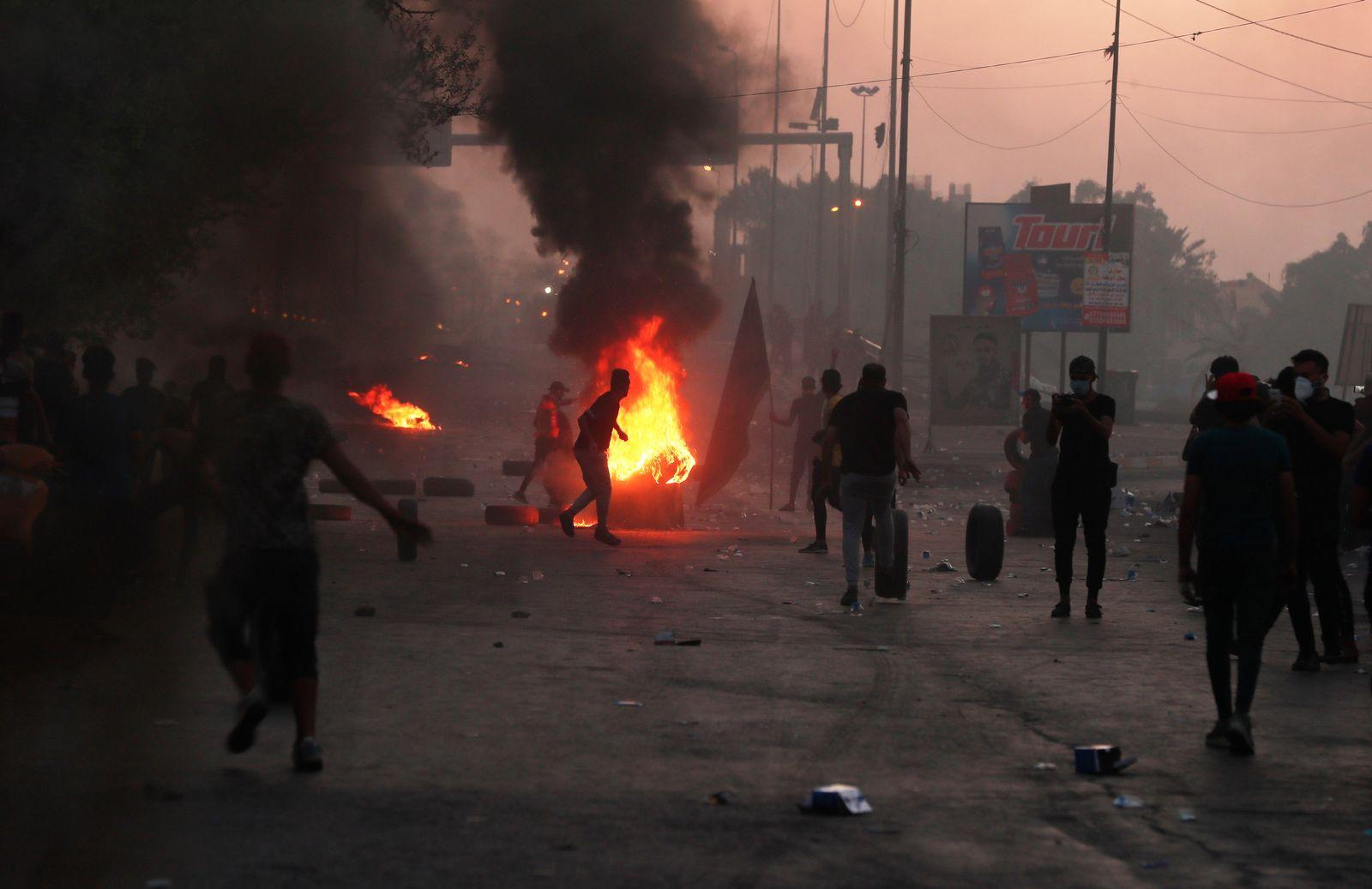 Irak-Proteste Update