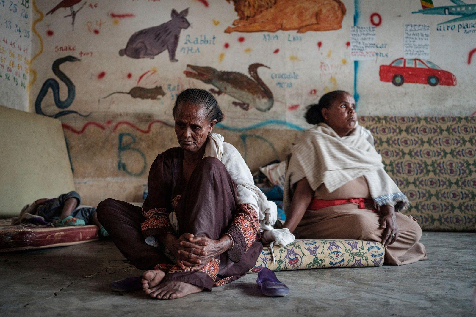 ETHIOPIA-CONFLICT-DISPLACED