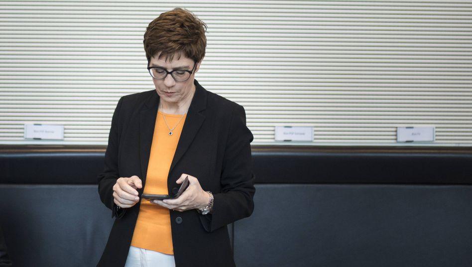 Annegret Kramp-Karrenbauer, CDU-Chefin