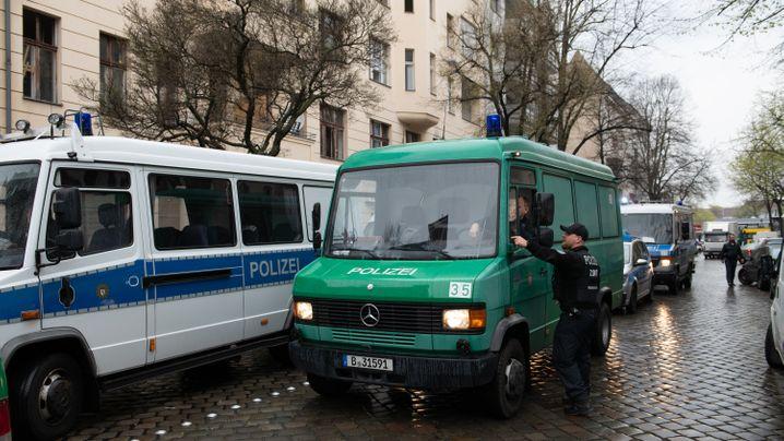 Berlin: Einsatz in der Kameruner Straße