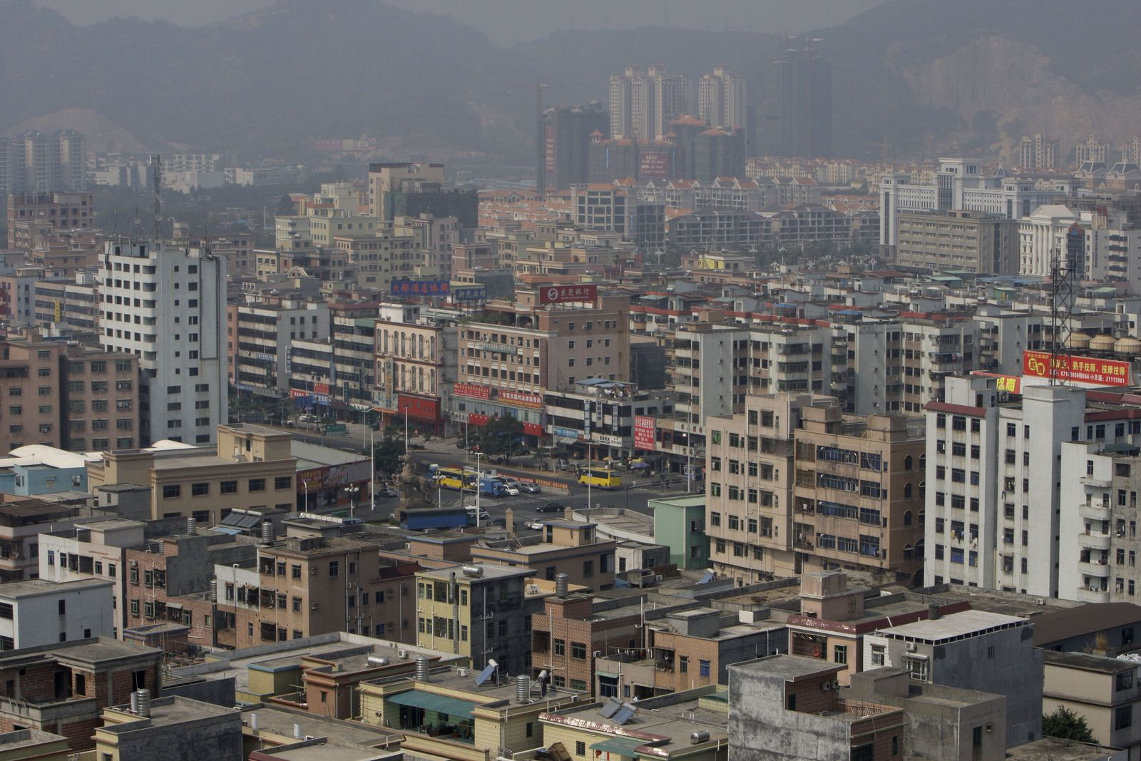 Dongguan Krise Zhangmutou