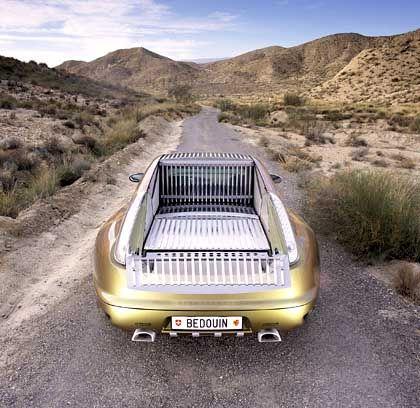 Multifunktionsauto: Per Knopfdruck wandelt sich der Bedouin vom Kombi zum Pick-up