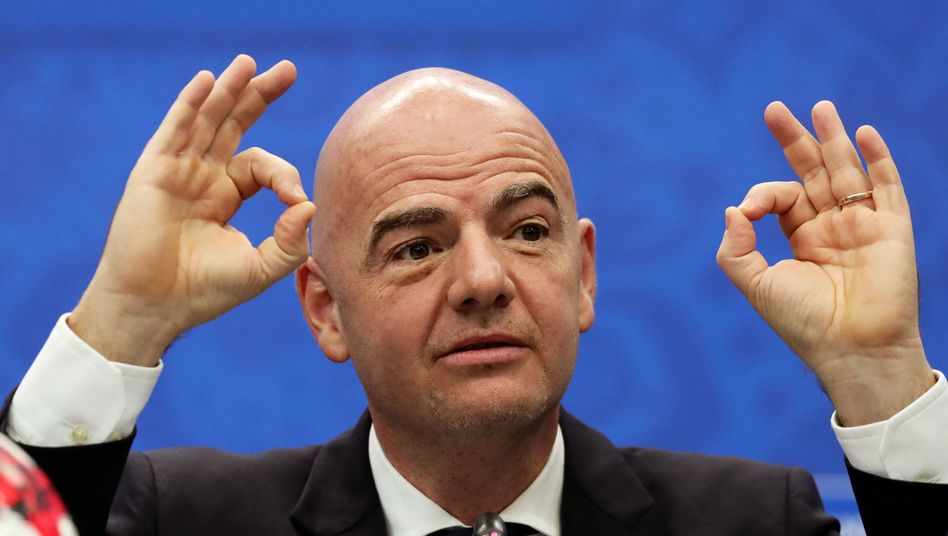 Fifa-Boss Gianni Infantino