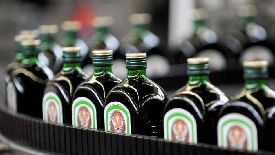 Jägermeister-Flaschen
