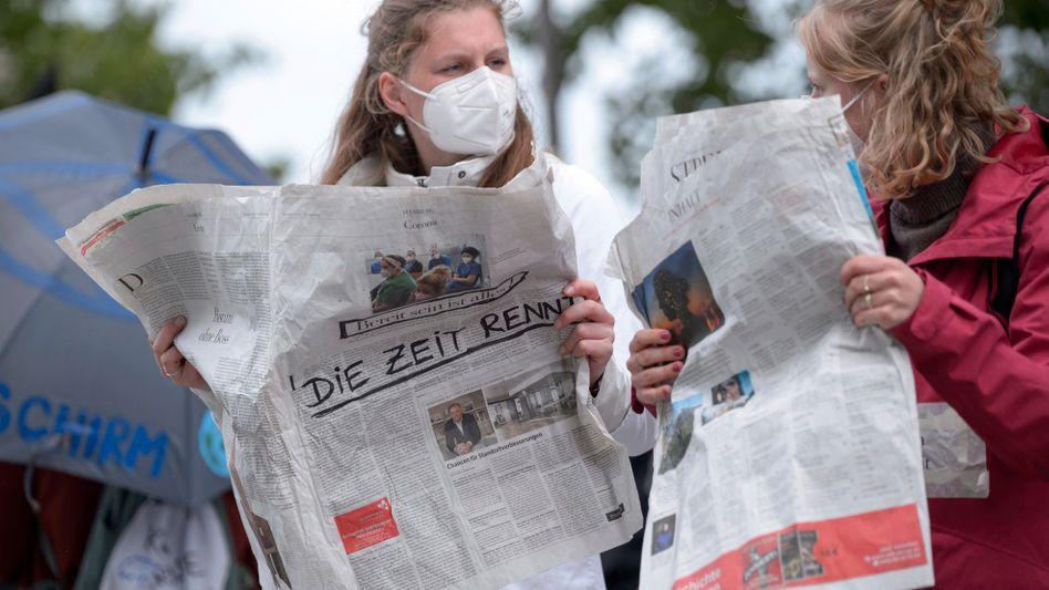 Aktivistinnen von Extinction Rebellion: Überlastung durch die Miniapokalypsen der vergangenen Monate