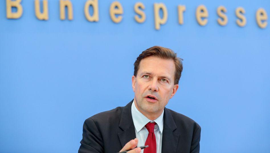 Regierungssprecher Steffen Seibert (Archivbild)