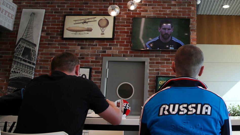 WM im russischen TV