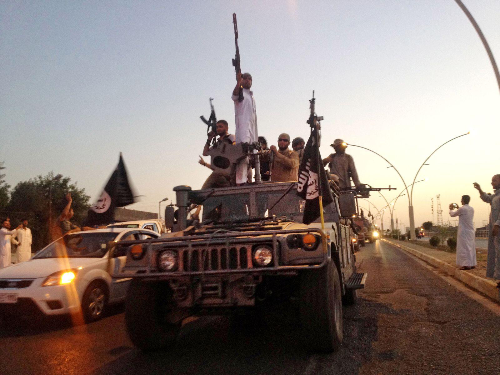 islamischer staat auto