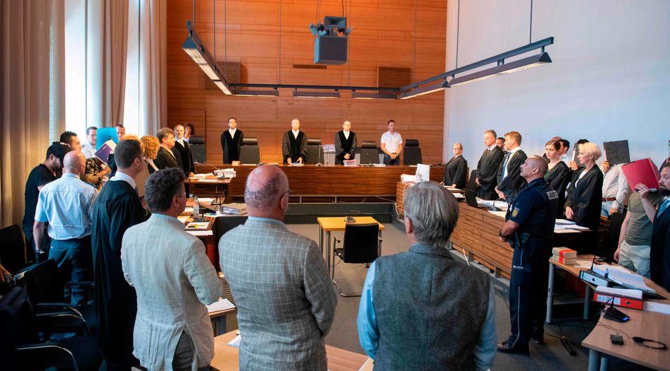 Der Prozess vor dem Landgericht Freiburg begann am 26. Juni