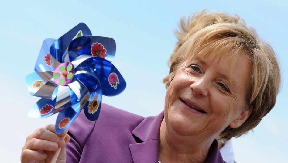 Kanzlerin Merkel: Kurswechsel in der Energiepolitik