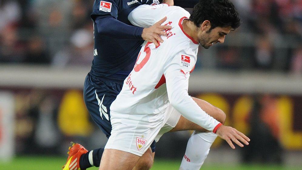 Podolski mit Last-Minute-Tor: Stuttgart verspielt Sieg