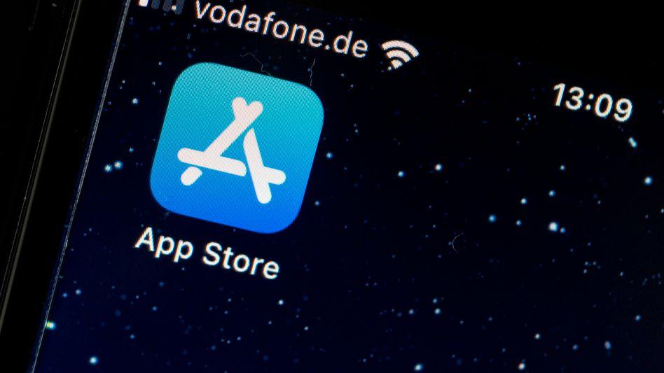 Logo des App Stores: Für Apple eine der wichtigsten Einnahmequellen