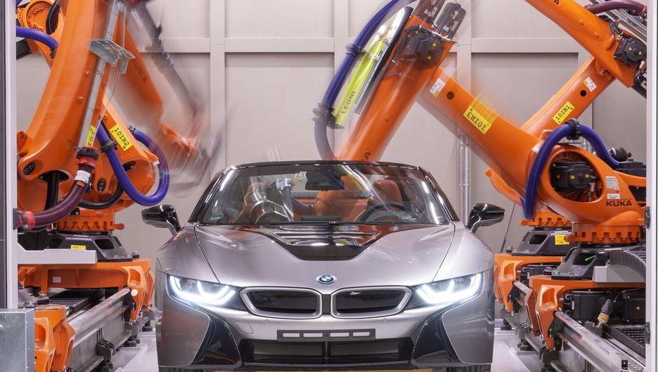 BMW i8 Roadster (Illustration)