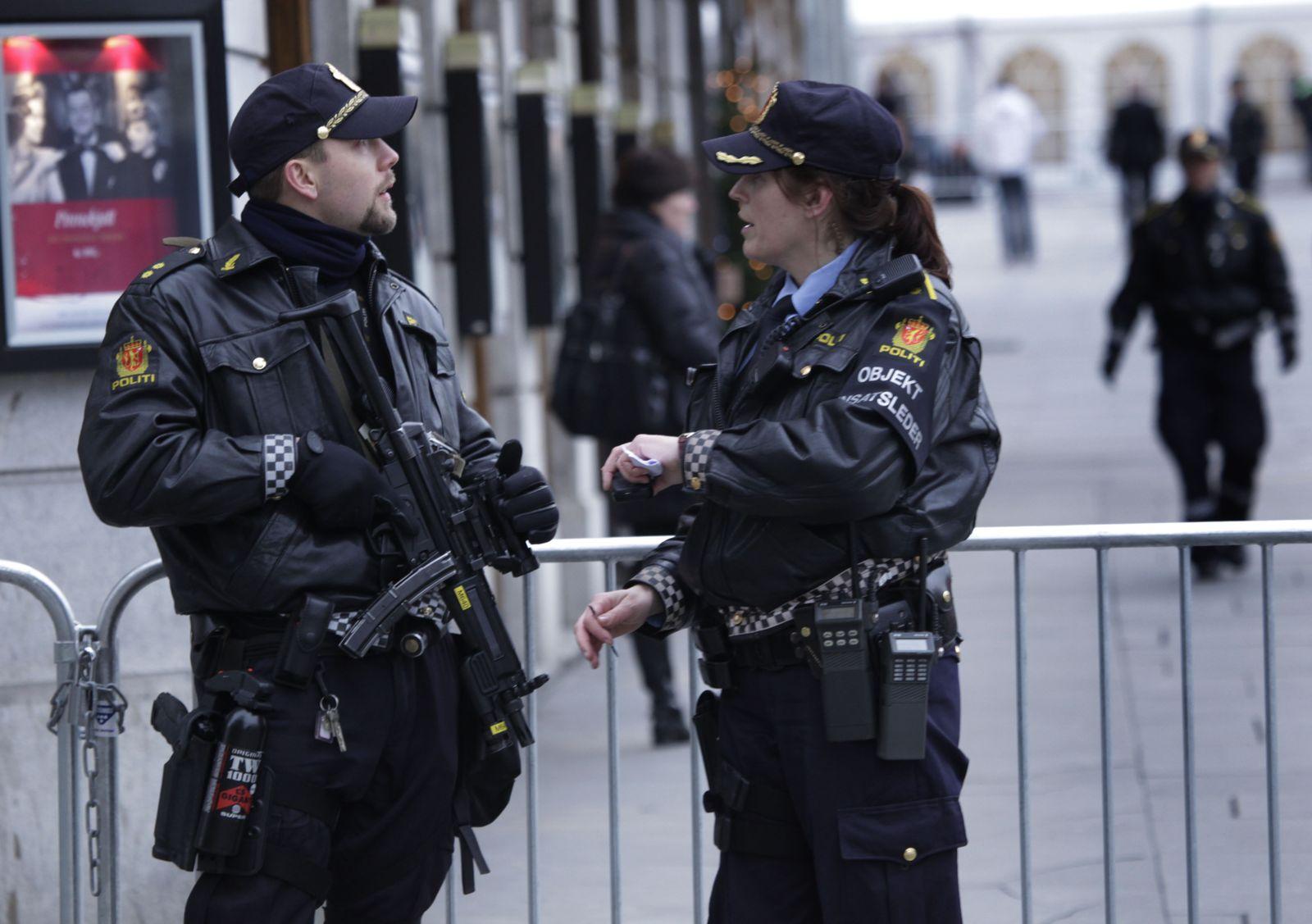 Oslo/ Polizei