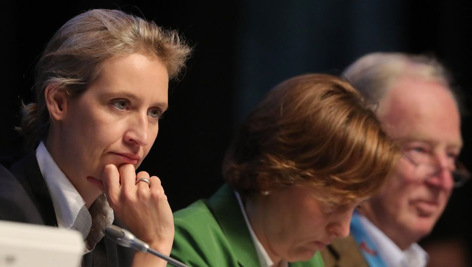 Stein des Anstoßes in der Hayek-Gesellschaft: die Mitgliedschaft von AfD-Funktionären wie Beatrix von Storch und Alice Weidel.