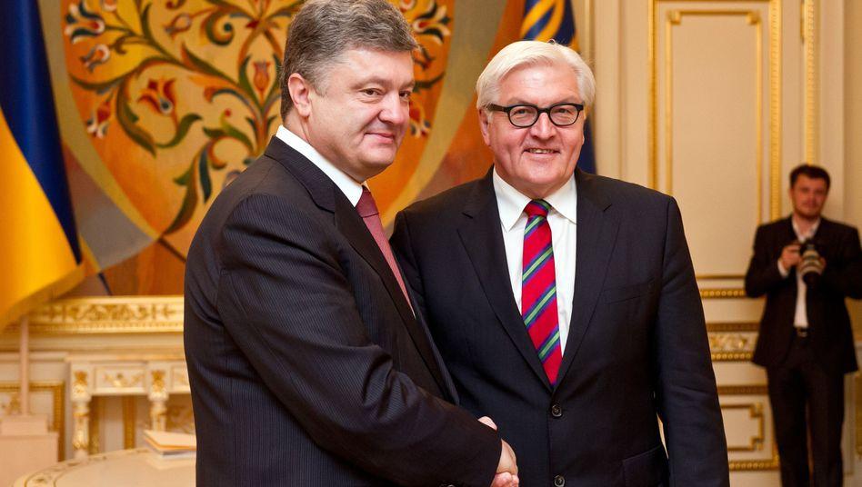 Erfolgbei Ukraine-Gesprächen: Ein ganz klein bisschen Frieden