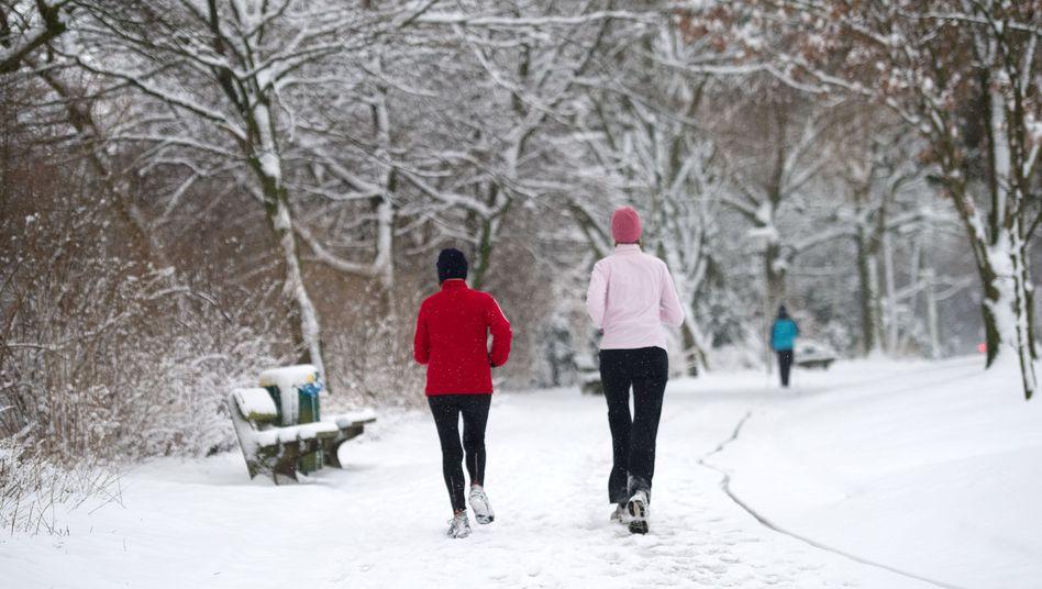 Entspannt zu zweit joggen: Es geht nicht immer darum, Bester zu sein