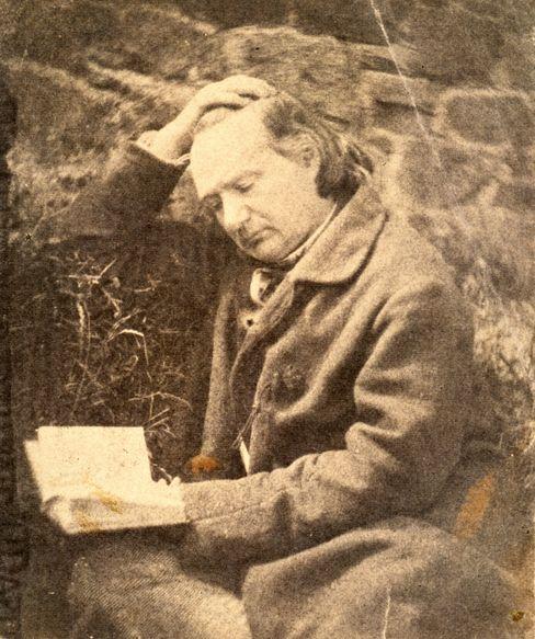 Victor Hugo 1853 auf Jersey