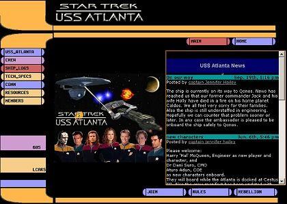 """""""Rebellion"""": Die Statusseite der """"Atlanta"""" hält die Crew des Textadventures über aktuelle Entwicklungen auf dem Laufenden"""