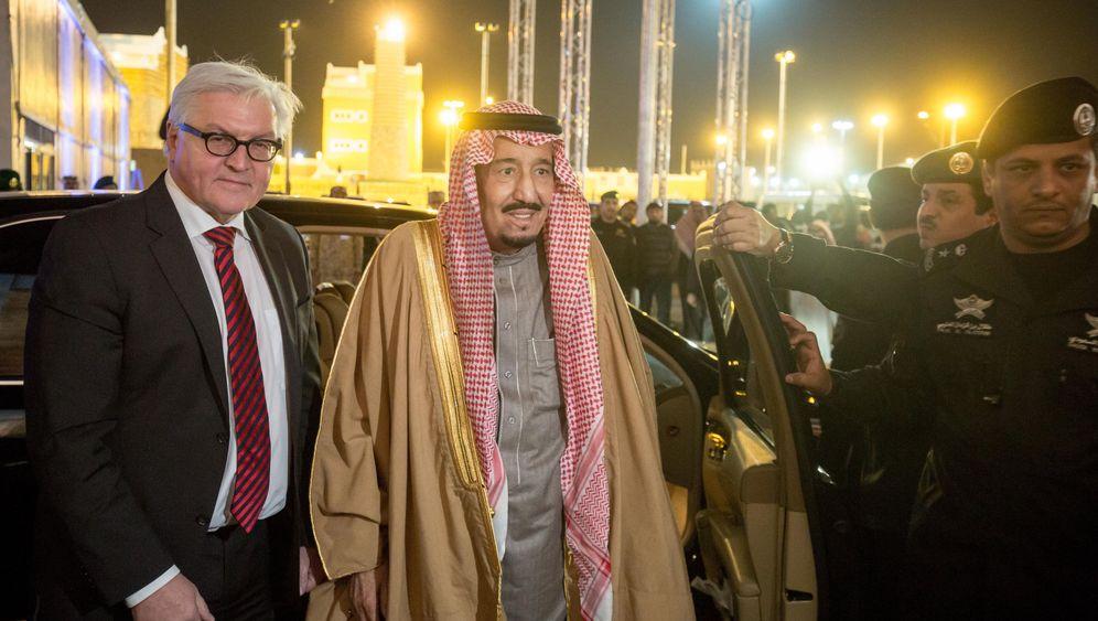 Steinmeier-Reise: Ein bisschen Deutschland in Saudi-Arabien