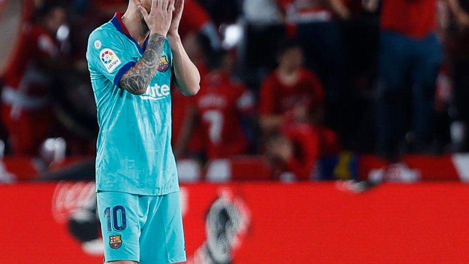 Auch Lionel Messi mag schon nicht mehr hinsehen