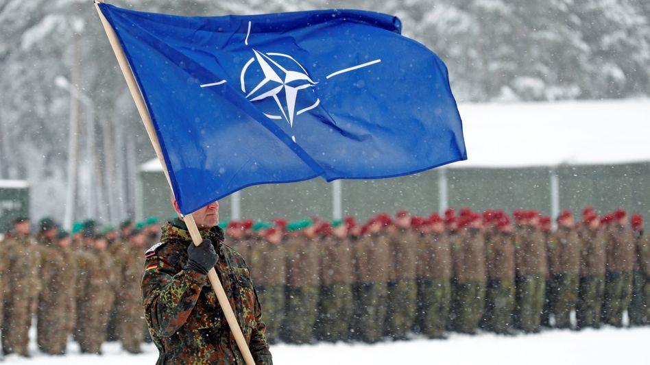 Für die Nato-Mission »Enhanced Forward Presence« stellt die Bundeswehr in Litauen rund 900 Soldaten