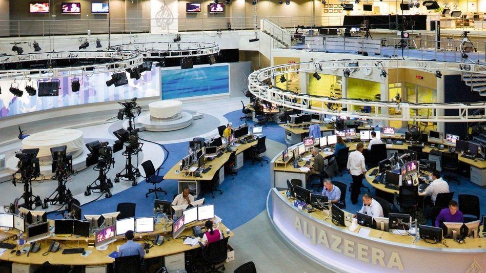 Al-Dschasira-Newsroom