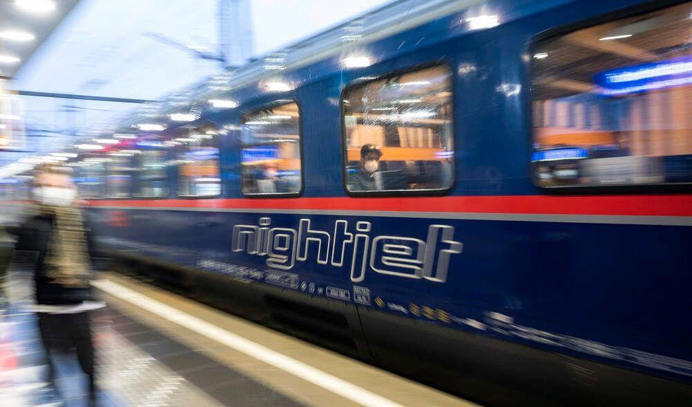 Österreich, ÖBB Nightjet Nachtzug-Start von Wien nach Amsterdam 20210524 Start for the new OEBB Nightjet to Amsterdam
