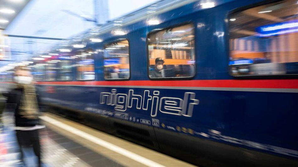 Nightjet der Österreichischen Bundesbahnen