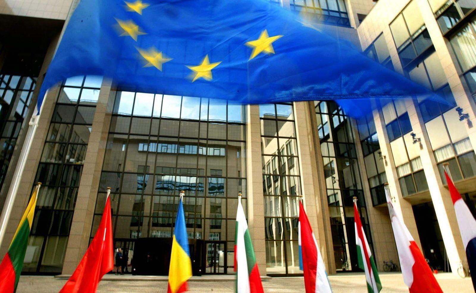 EU-Ratsgebäuden Brüsel
