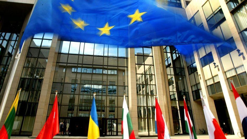 EU-Ratsgebäude in Brüssel: Rundfunkanstalt für 28 Staaten?