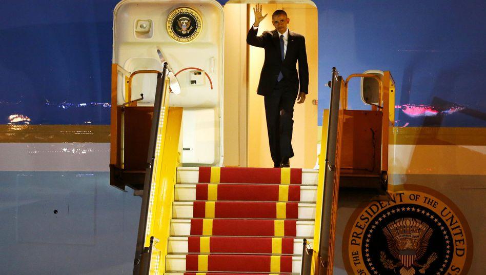 Barack Obama erreicht Vietnam