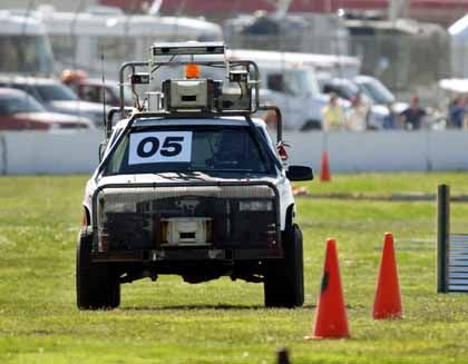 Roboterfahrzeug: Aus nach wenigen Metern